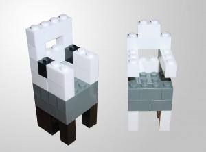 Bauanleitung für Lego Designerstühle