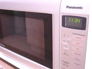 Die Mikrowelle Panasonic NN-GT 460 M im Küchenalltag