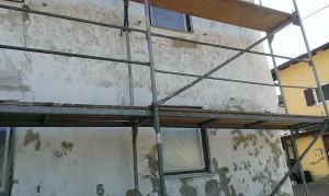 Man braucht einiges an Know-How wenn man seine Fassade streichen will
